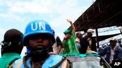 Los soldados de las Naciones Unidas han mantenido una presencia histórica en África.