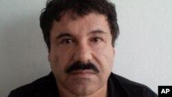 """Foto divulgada por la Procuraduría mexicana de Joaquín """"El Chapo"""" Guzmán"""