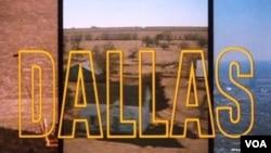 """""""达拉斯""""电视剧描述美国南部德州一个富豪家族的故事 (资料图片)"""