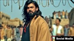 'دی لیجنڈ آف مولا جٹ' کے ایک منظر میں اداکار فواد خان