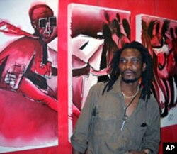 UMnu. Owen Maseko ume duzane lomfanekiso weGukurahundi owambophisayo.