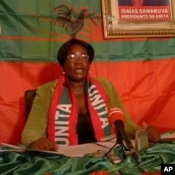 Amérlia Judite, secretária da UNITA na Huíla