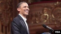 Prezidan ameriken an Barack Obama (foto achiv)