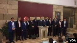 CHP Yalova milletvekili Muharrem İnce'nin TBMM'de basın toplantısı