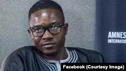 Alain Kemba Didah, porte-parole du mouvement citoyen tchadien Iyina.