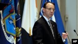 راد روزنستاین معاون دادستان کل ایالات متحده - آرشیو