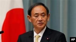 Sekretaris Kabinet Jepang, Yoshihide Suga (Foto: dok).