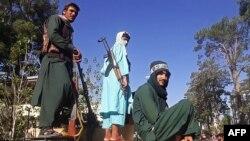 Talibani u osvojenom gradu Heratu, 13. august 2021.