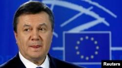 乌克兰总统亚努科维奇(资料照片)。