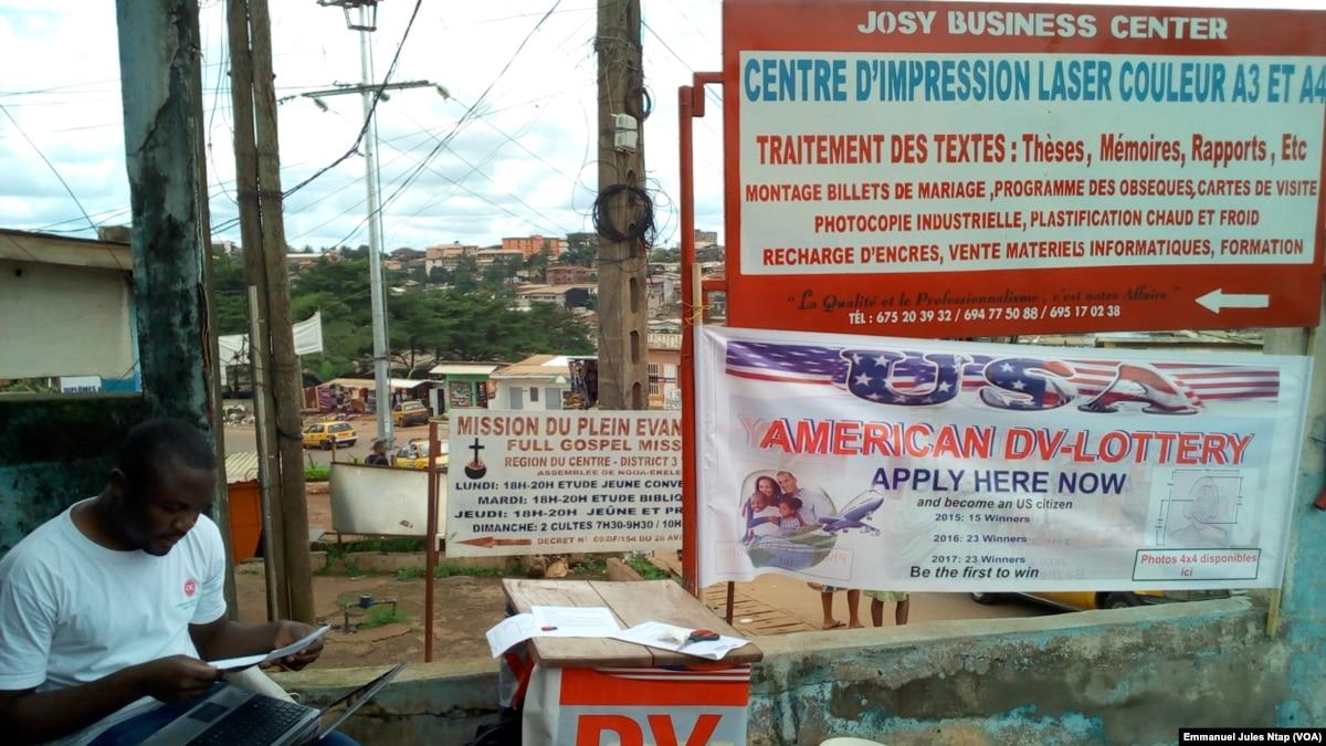 Ruee Sur La Green Card A Luniversite De Yaounde Au Cameroun