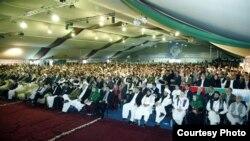 Hội đồng bô lão dự hội nghị được Tổng thống Afghanistan Hamid Karzai triệu tập