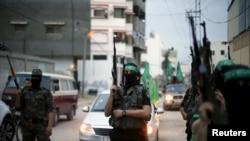 ဂါဇာကို အုပ္ခ်ဳပ္ေနတဲ႔ Hamas အစၥလာမၼစ္ စစ္ေသြးၾကြ အဖြဲ႔