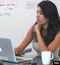 Leila Janah, pendiri dan pimpinan eksekutif organisasi bantuan Samasource.