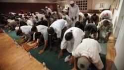 미국 무슬림 라마단 자선행사