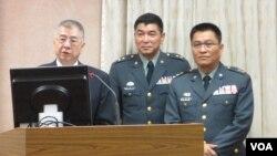 台灣國防部官員在立法院接受質詢