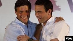 En estas primarias opositoras, según sondeos, el gobernador del Estado Miranda, Henrique Capriles, tiene ventaja.