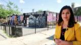 امریکہ: واشنگٹن کا رنگ برنگا 'گریفیٹی میوزیم'