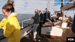 Esha Serai travels along as some girls from South Carolina go on a confidence-building trip on board a sailing ship.