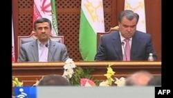 İran Tacikistanla əlaqələri möhkəmləndirir (VİDEO)