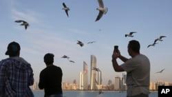 City Skyline di Abu Dhabi, Uni Emirat Arab (foto: dok).