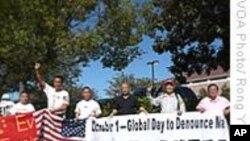 美国华人要求尼克松图书馆移除毛泽东塑像