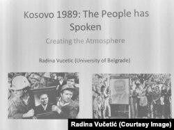 Posle decenija podizanja zidova i ovaj naš dijalog pokazuje da je vreme da krenemo da ih rušimo: Radina Vučetić, učesnica konferencije čija je tema bila Kosovo