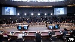 Заседание стран-членок НАТО в Брюсселе. 14 июня 2021 г.