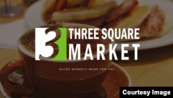 A screenshot of the website of Three Square Market, also known as 32M, the Wisconsin company that is offering to microchip its employees, enabling them to open doors, log onto their computers and purchase break room snacks with a simple swipe of the hand, July 25, 2017.