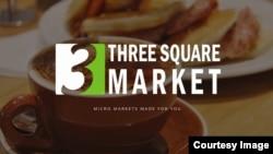 Cuplikan layar dari situs web Three Square Market, yang juga dikenal sebagai 32M, perusahaan asal Wisconsin yang menawarkan untuk menanamkan microchip pada karyawannya, yang membuat mereka mampu untuk membuka pintu-pintu, masuk ke jaringan komputer, dan membeli makanan camilan untuk ruang istirahat hanya dengan menggesekkan tangannya.