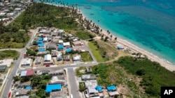 Archivo - Al Banco San Juan Internacional, en Puerto Rico, se le acusa de violar sanciones contra Venezuela.