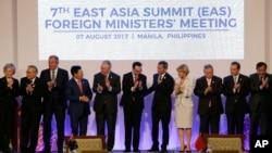 菲律賓首都馬尼拉8月7日結束會議的東南亞國家聯盟