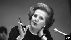 Cựu Thủ tướng Anh Margaret Thatcher vừa qua đời, thọ 87 tuổi