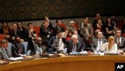 유엔 안전보장이사회는 22일 미국 뉴욕 유엔본부에서 회의를 열고 북한인권 상황을 정식 안건으로 채택할 지를 놓고 표결을 실시한 결과,찬성 11표, 반대 2표, 기권 2표로 가결했다.