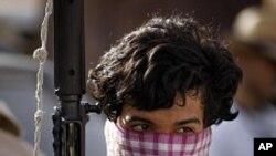 리비아의 반군병사