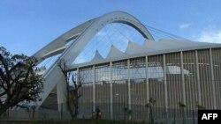 Mốt số trận đấu World Cup sẽ diễn ra tại sân vận động mới xây này của TP Durban, Nam Phi