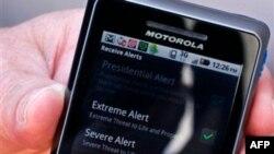 SHBA: Sistem i ri për dhënien e alarmit përmes telefonëve celularë