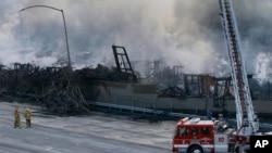 Jedan od požara u Los Anđelesu