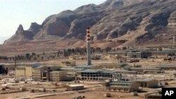 照片顯示伊朗首都德黑蘭410公里以南的城市伊斯法罕的鈾轉化基地。(資料圖片)
