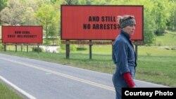 Кадр из фильма ««Три биллборда на границе Эббинга, Миссури». Courtesy photo