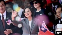 蔡英文對特朗普簽署香港法案 表示民主道路並不孤單