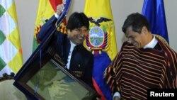 Durante la asamblea de la OEA no solo Ecuador se pronunció en contra del tratado sino también se sumaron los países miembros del ALBA, Bolivia, Venezuela y Nicaragua.