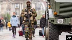APTOPIX Belgium Paris Attacks
