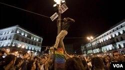Las altas tasas de desempleo en Europa han generado protestas y huelgas.