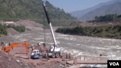نیلم جہلم ہائیڈرو پاور پراجیکٹ پر جاری کام