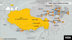 Tibet Immolations - updated February 26, 2013
