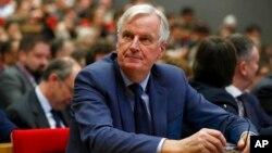 Brexit sonrası İngiltere'yle görüşmeleri yürüten AB Baş Müzakerecisi Michel Barnier