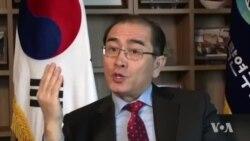 """[태영호 전 공사 단독인터뷰 (1)] """"북한, 경제·군사력 격차 극복하려고 핵 개발"""""""