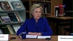 Bà Hillary Clinton vẫn chiếm ưu thế tranh cử dù có nhiều nghi vấn