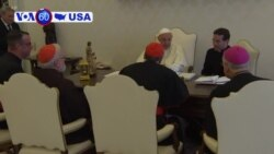 VOA60 America - Pope Francis accepted the resignation of West Virginia Bishop Michael Bransfield