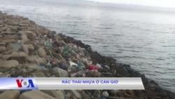 Rác thải nhựa tại Cần giờ